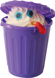 trash can sundae